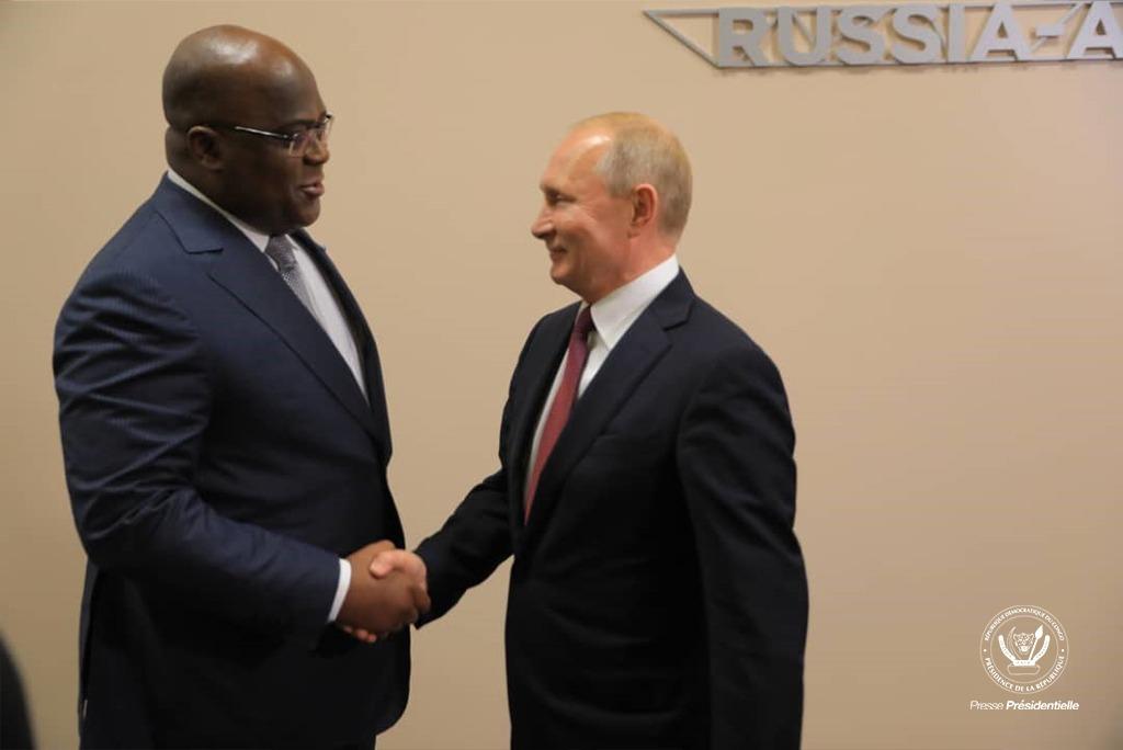 Russie-Afrique : Félix Tshisekedi a échangé avec Vladmir Poutine