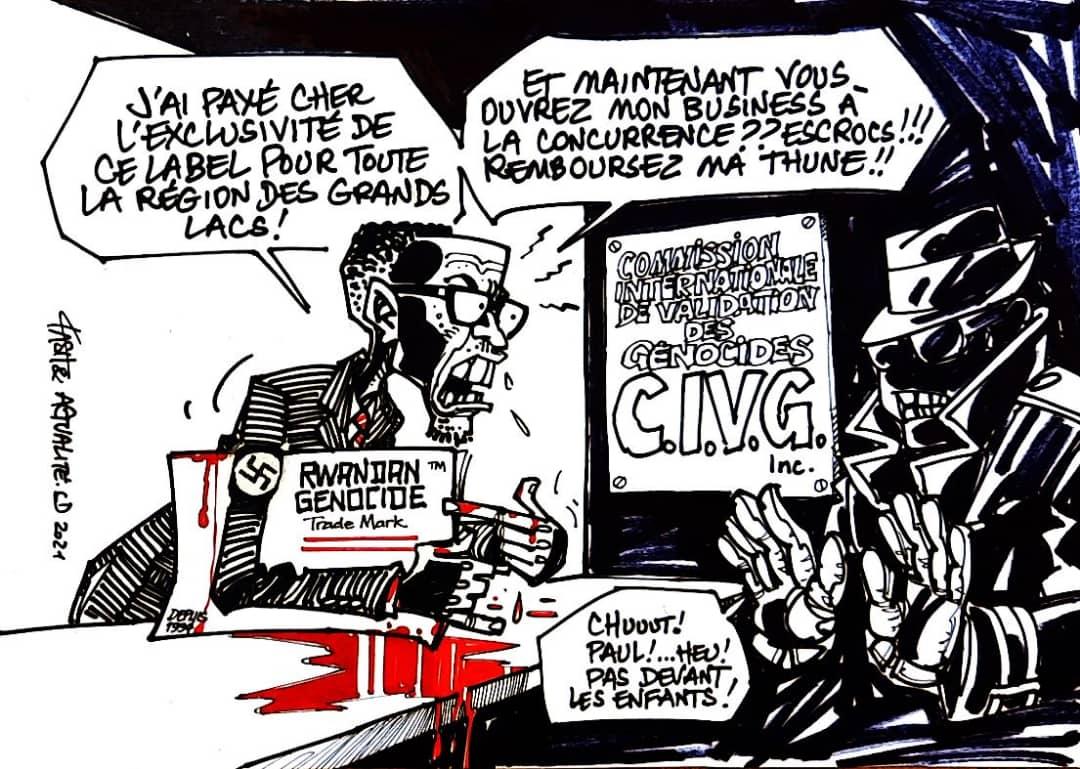 """DE QUOI EST LE NOM  PATRICK DE ST-EXUPERY, UN JOURNALISTE REPORTER FRANCAIS QU'ON LIT ET VOIT AUJOURD'HUI PARTOUT VENDRE SON DERNIER LIVRE ET Y REFUSER UN """"DEUXIEME GENOCIDE"""" ! EN SERVICE COMMANDE CONTRE LE RAPPORT MAPPING !?!  Exclu"""