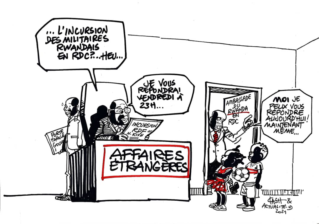 LE RWANDA FINALISE SON USINE DE TRAITEMENT DE COLTAN APRES CELLE DU RAFFINAGE DE L'OR ET PERSONNE N'IGNORE QUE LEURS MATIERES PREMIERES SONT LARGEMENT PILLEES AU CONGO. LE PR TSHISEKEDI REALISE-T-IL ENFIN SON CRIME D'AVOIR PACTISE AVEC UN RUSE ENNEMI ?   Incursion%20Rwanda