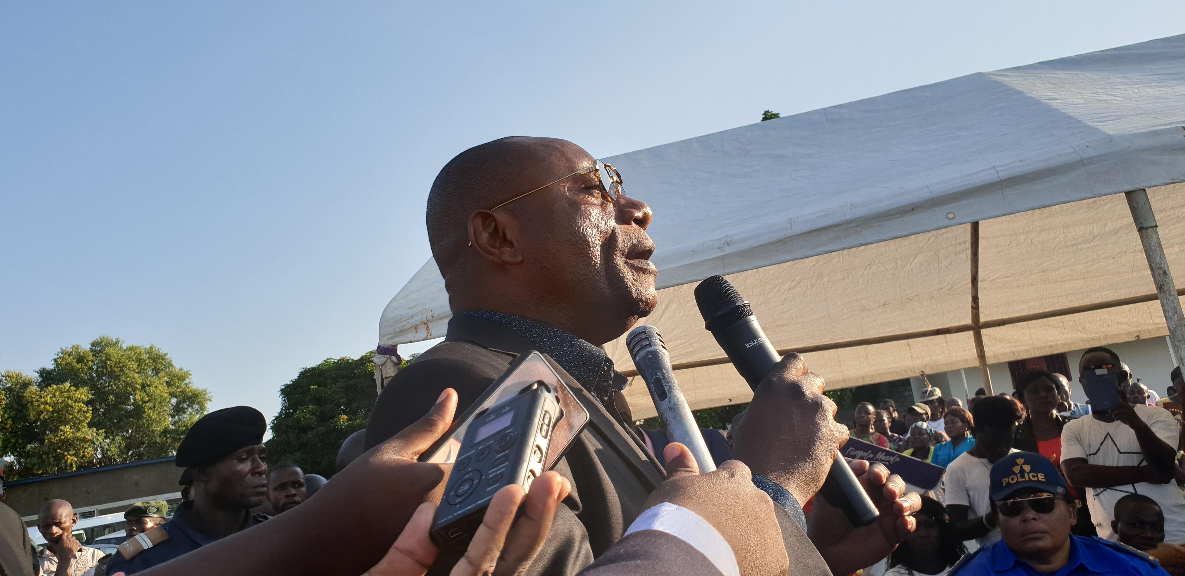 Le vice - gouverneur de Kinshasa