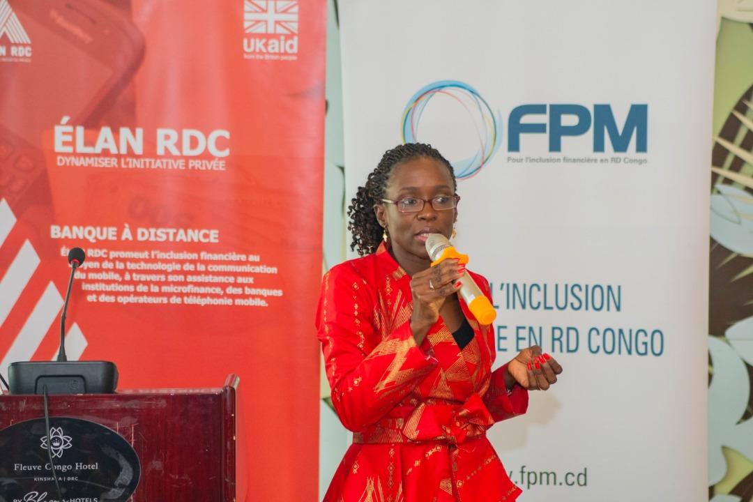 Edwige Takassi, Consultante spécialisée en finance inclusive et responsable du secteur Accès au financement chez ELAN RDC. Ph. Droits tiers.