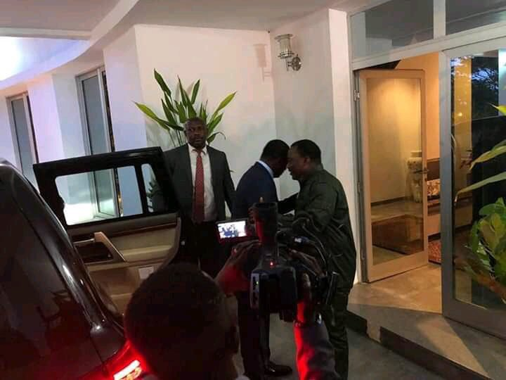 Le président du Togo et Kabila