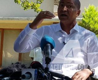 Moïse Katumbi Chapwe, un des leaders de la plateforme Lamuka