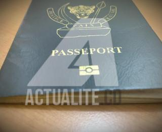 Passeport congolais en vigueur/Ph ACTUALITE.CD