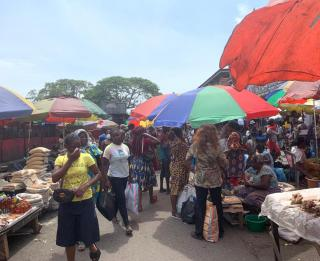 Marché central de Kinshasa. Ph. ACTUALITE.CD
