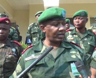 Smith Gihanga commandant de la 22e région militaire