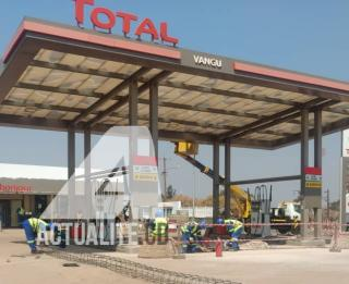 Une station de carburant à Lubumbashi/Ph ACTUALITE.CD