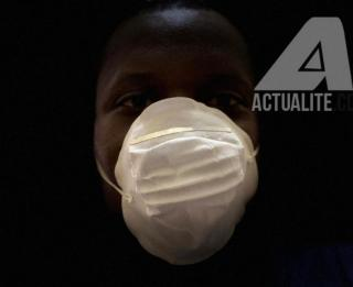 Masque de protection contre coronavirus/Ph ACTUALITE.CD