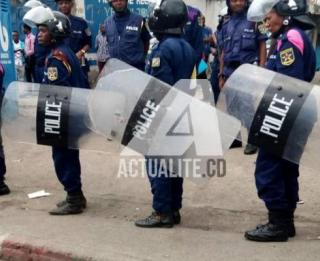 Police Nationale Congolaise/Ph. ACTUALITE.CD