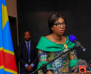Jeanine Mabunda. Ph. Assemblée nationale