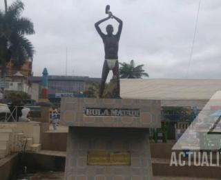 Monument Bula Matadi/Ph ACTUALITE.CD