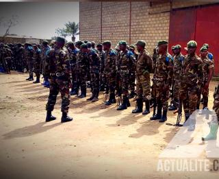 Parade des FARDC à l'état-major Sokola 1 à Beni/Ph ACTUALITE.CD (Archive)