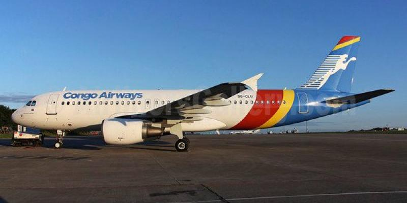 Un avion de Congo Airways
