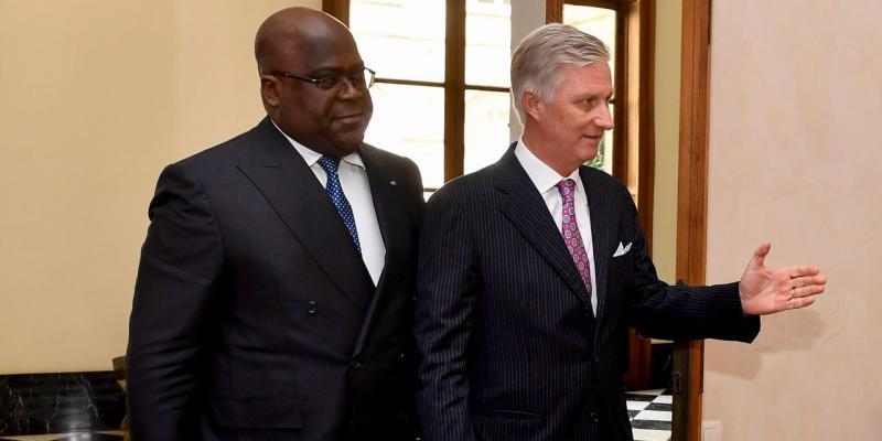 Félix Tshisekedi et le roi Philipe
