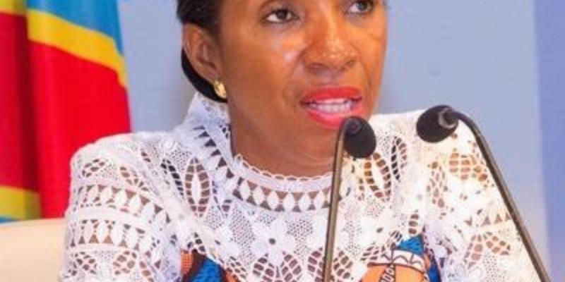 Jeanine Mabunda. Ph. Assemblée nationale