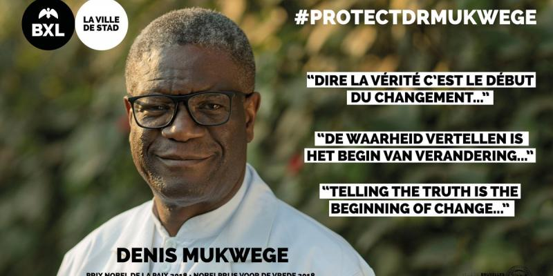 Denis Mukwege, Ph. Droits tiers.
