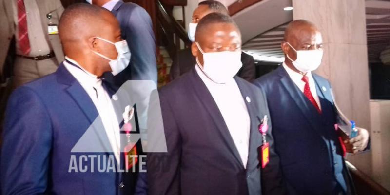 La délégation du SYNAMED après rencontre avec le Président de la République/Ph. ACTUALITE.CD