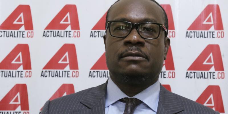 Le député national Delly Sessanga/Ph ACTUALITE.CD