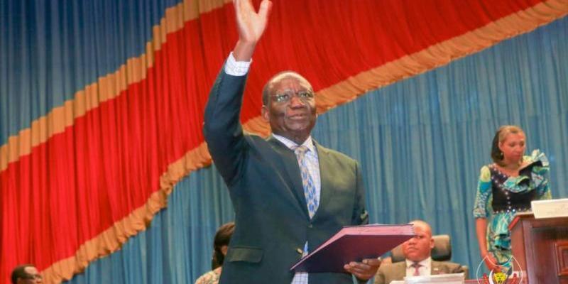 Le Premier ministre Sylvestre Ilunga Ilunkamba à l'Assemblée nationale/Ph droits tiers