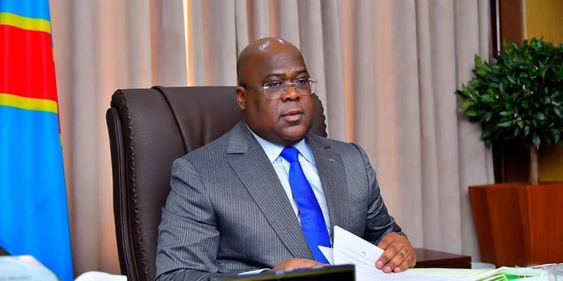Felix Tshisekedi/Ph. Président de la République