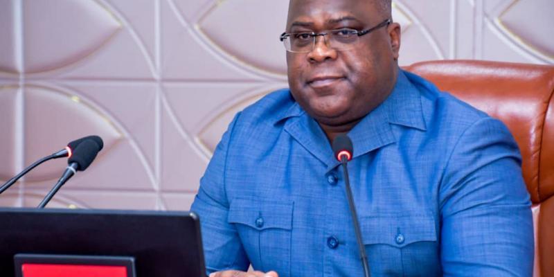 Félix Tshisekedi, PH. Présidence de la République