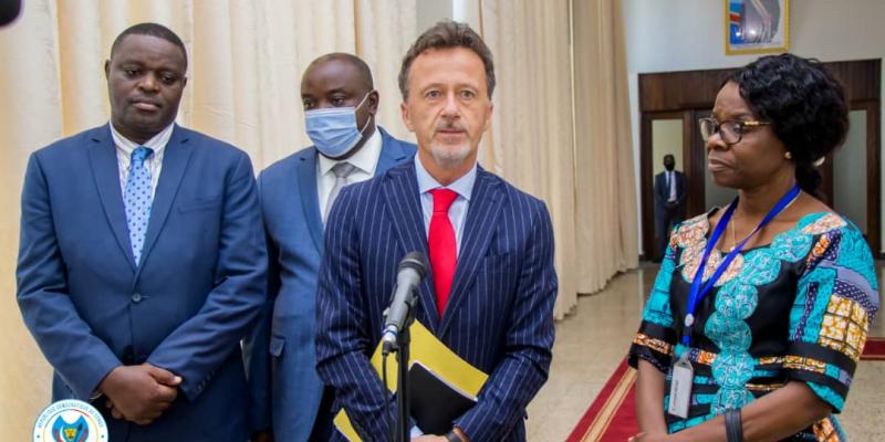 Oliver Schnakenberg, ambassadeur allemand en RDC