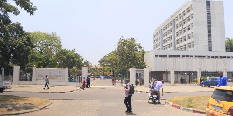 Bâtiment du ministère des affaires étrangères à Kinshasa