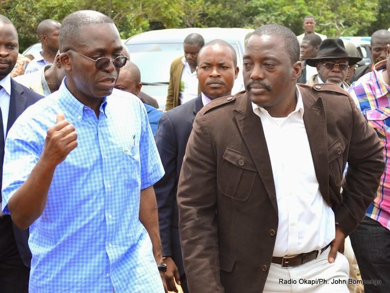 A. Matata et J. Kabila (Photo Radio Okapi)