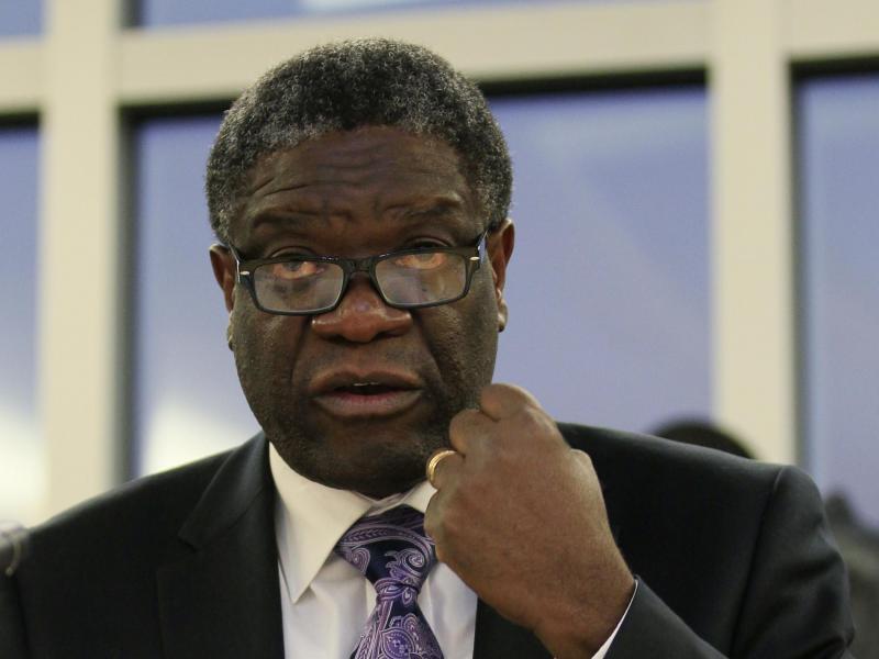 Denis Mukwege et Nadia Murad, prix Nobel de la paix