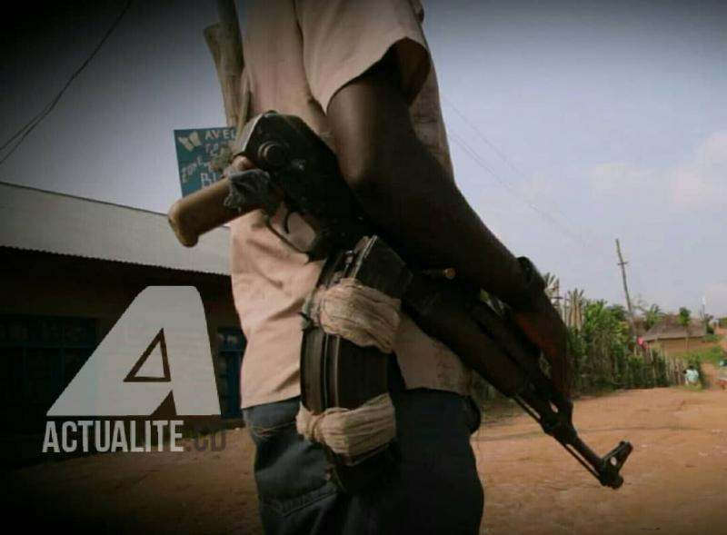 Un milicien dans l'est de la RDC