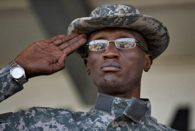 Laurent Nkunda, le 22 novembre 2008. ( Photo : Reuters )