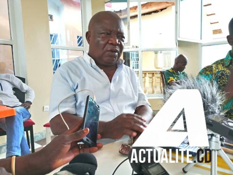 Kasonga Tshilunde, président de l'UNPC