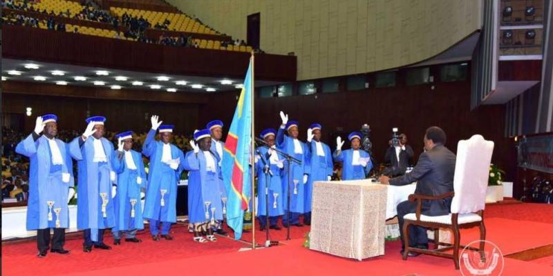 RDC : Les Militants De L'UDPS Mobilisés Aux Abords De La