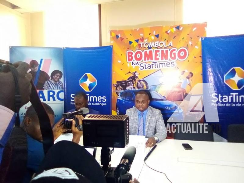 Lancement officiel de la tombola Bomengo na Startimes