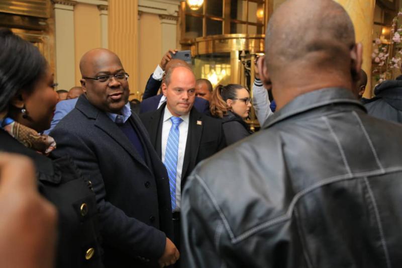 Le président Felix-Antoine Tshisekedi à Washington DC pour une mission officielle
