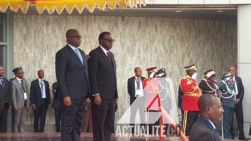 Le président Tshisekedi est arrivé à Washington — États-Unis