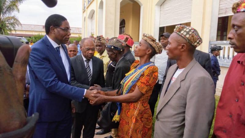Lambert Mende, candidat unique pour le gouvernorat du Sankuru