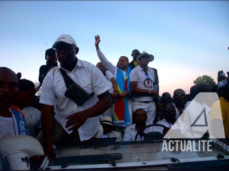 Moise Katumbi de retour à Lubumbashi/ Ph. Christine Tshibuyi