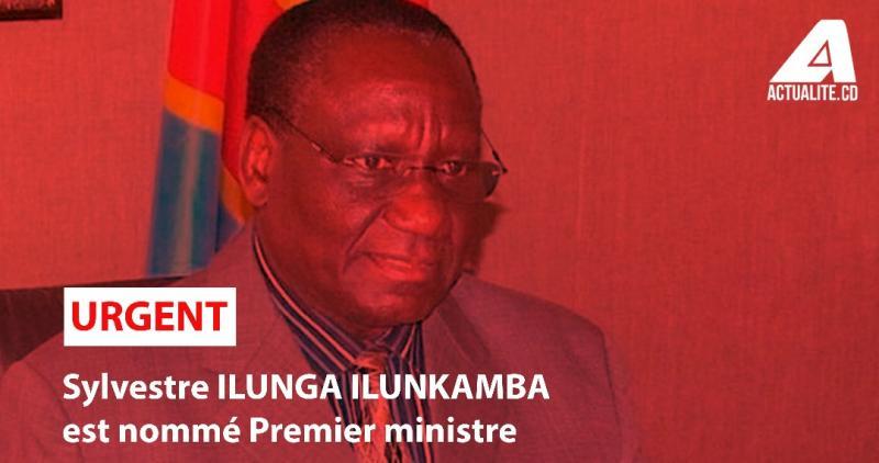 Ilunga Ilukamba, nouveau Premier ministre de la RDC