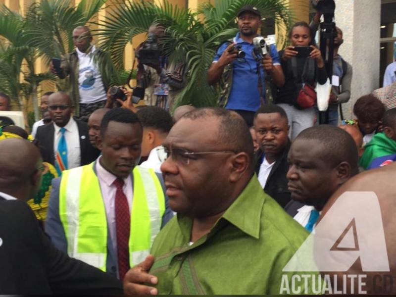 Jean-Pierre Bemba de retour à Kinshasa — RDC