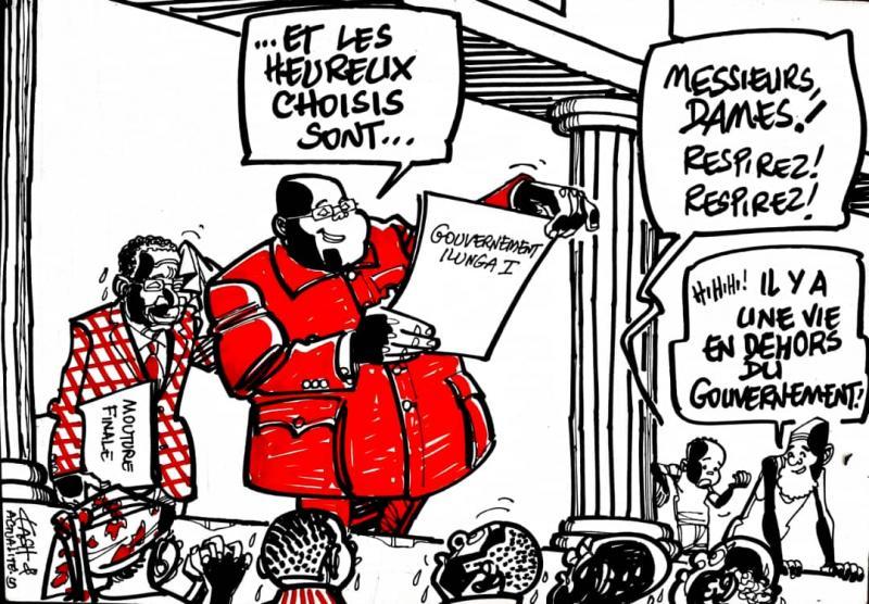 RDC : les quatre particularités du Gouvernement Ilunkamba