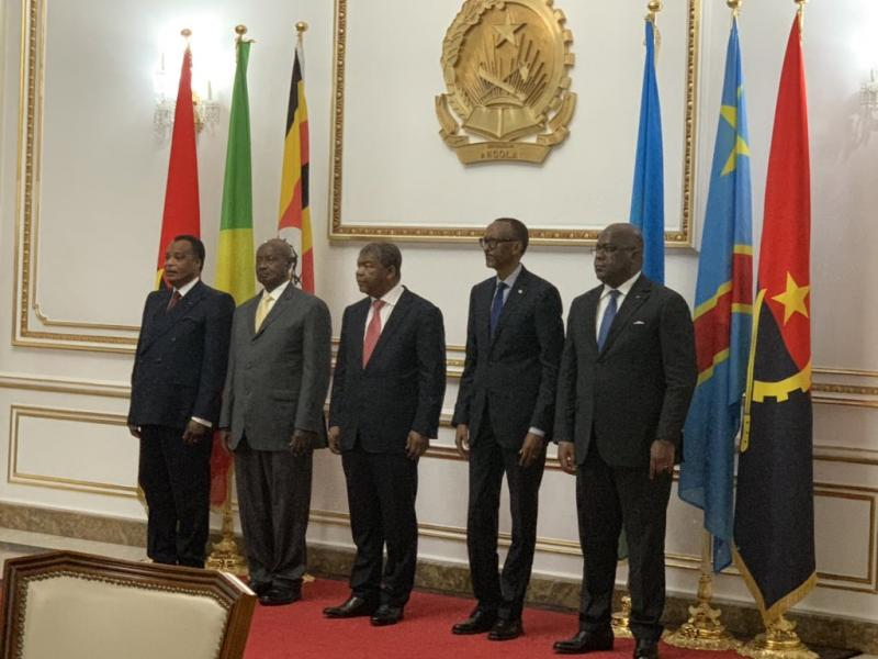 ON REPARLE DE LA PLAINTE DU CONGO CONTRE L'OUGANDA DEVANT LA CIJ ! QUID DE CELLE CONTRE LE RWANDA RETIRÉE DANS DES CONDITIONS OPAQUES ? Kagame%20tshisekedi%20sassou
